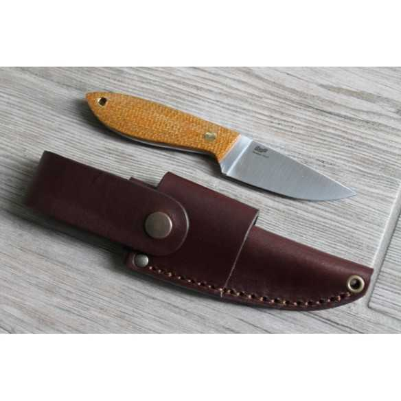 Brisa Bobtail 80 Multicarry Leather Mustard Micarta