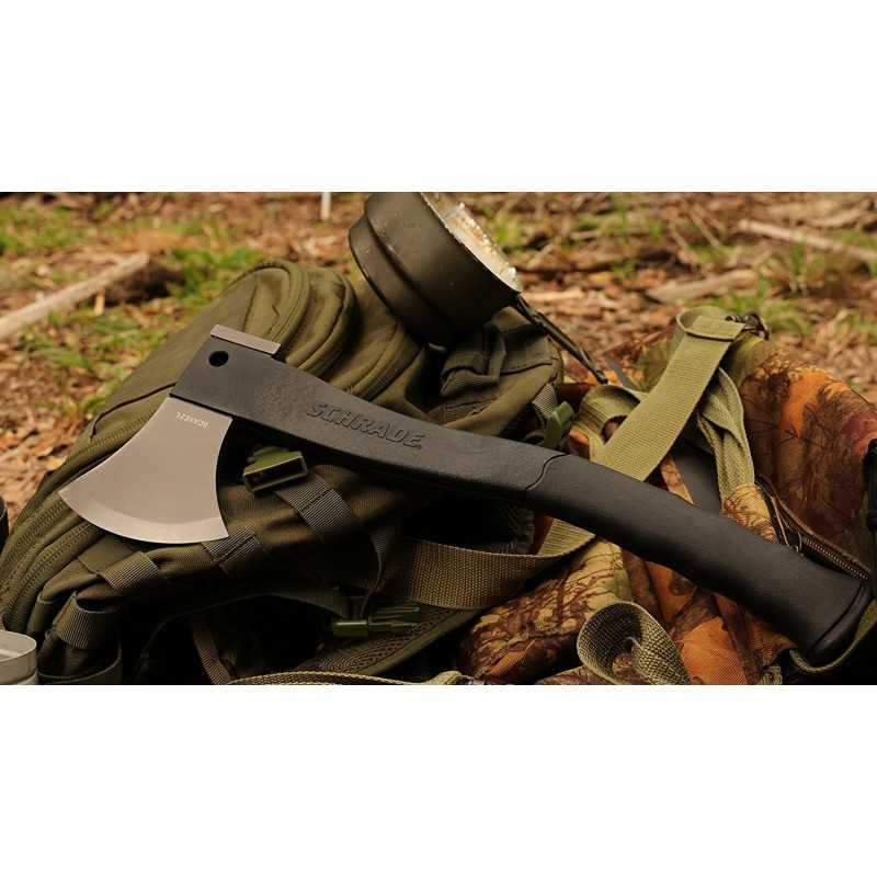 Schrade Survival Hatchet Large Black
