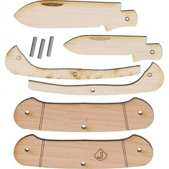 JJ'S Knife Kit Two Blade Canoe