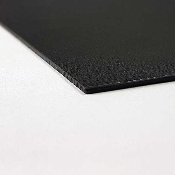 Kydex Black 2.0 mm 15x30 cm