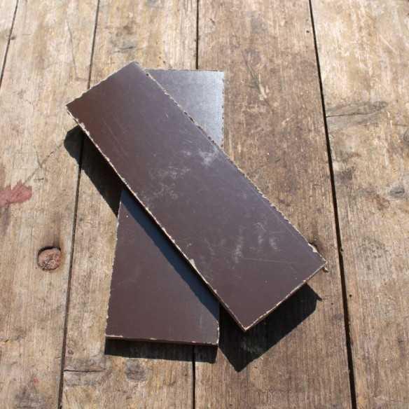 Micarta Brown Canvas Scales...