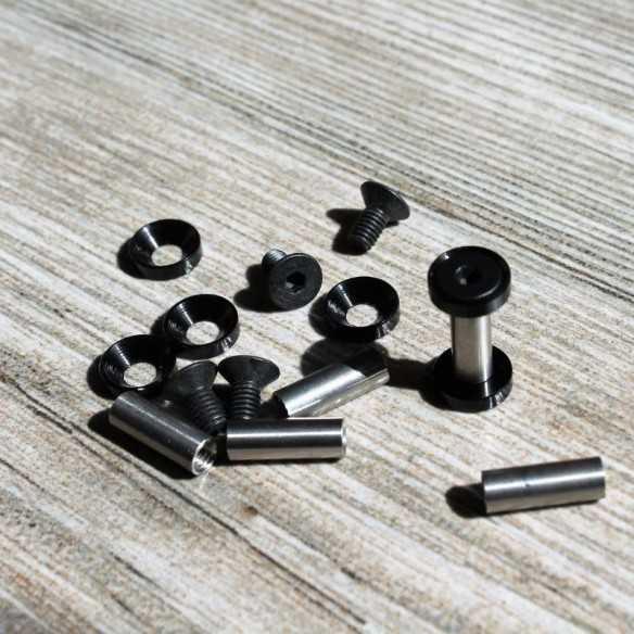 Hex Screws 19 x 5 mm Black
