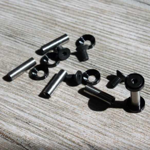 Hex Screws 22 x 5 mm Black
