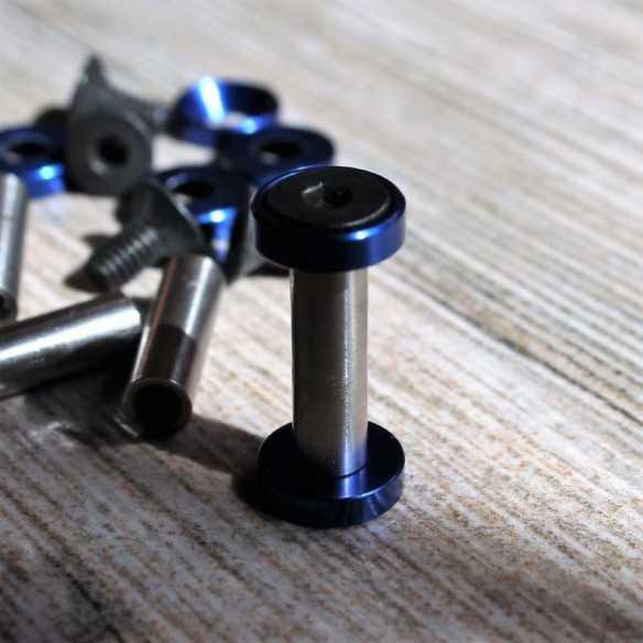 Hex Screws 22 x 5 mm Blue