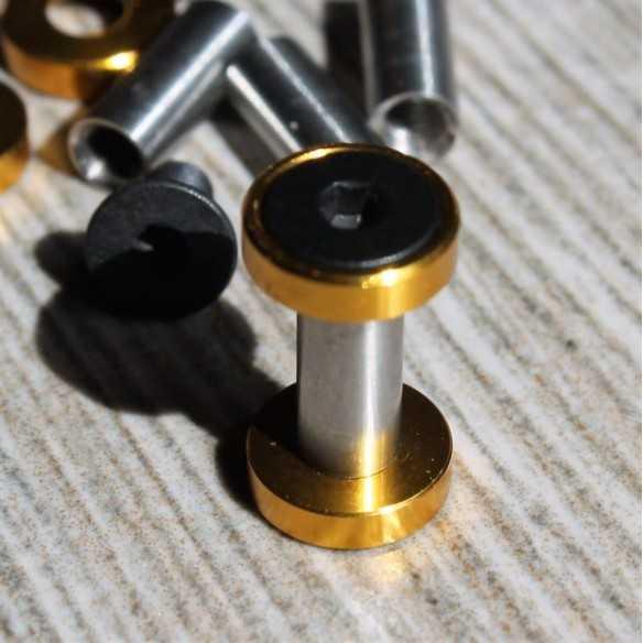 Viti Esagonali 17 x 5 mm Oro