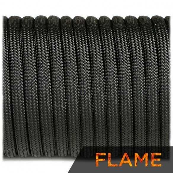Flame Cord Black