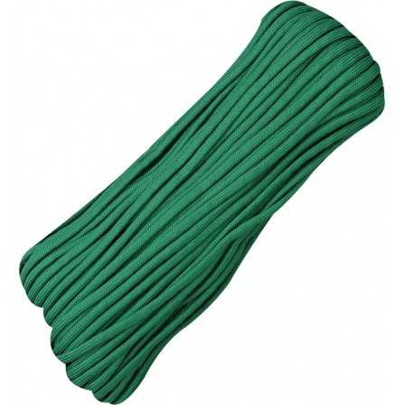 Paracord 7 strand 550lbs - 250kg Green 100ft (30m)