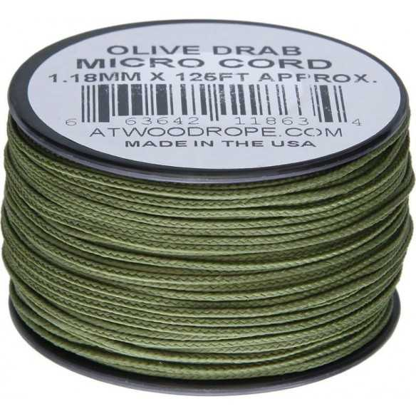 Microcord 1.18 mm Olive...