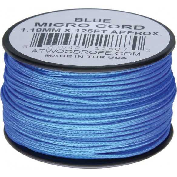 Microcord 1.18 mm Blue 40 m