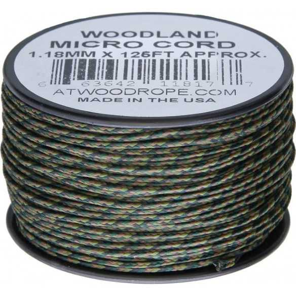 Microcord 1.18 mm Woodland...