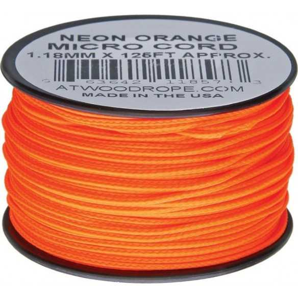 Microcord 1.18 mm Orange 40 m