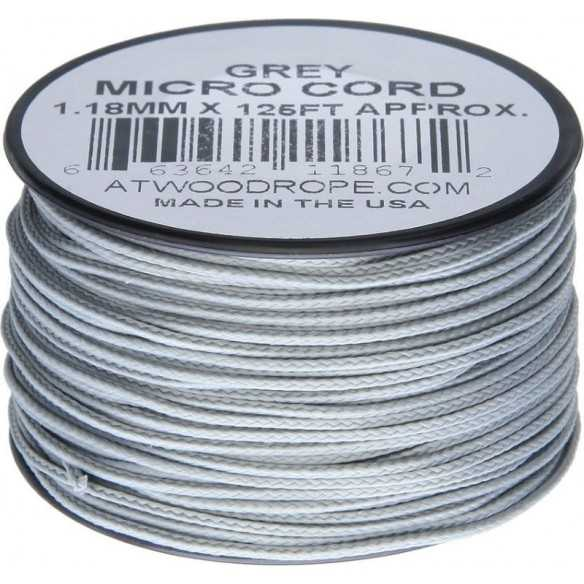 Microcord 1.18 mm Grey 40 m
