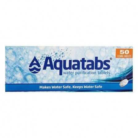 Aquatabs Water Purification Tablets 50 pcs