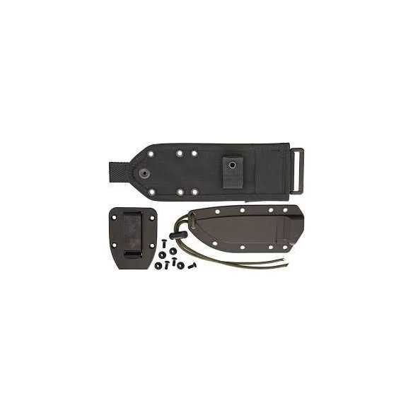 ESEE 4 Black molle back