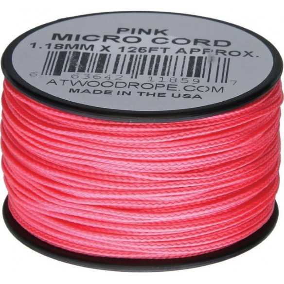 Microcord 1.18 mm Pink 40 m