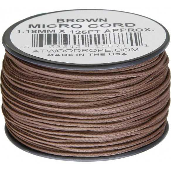 Microcord 1.18 mm Brown 40 m