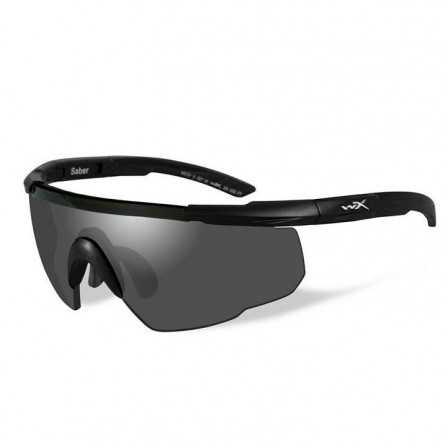 Wiley X Saber Advanced Matte Black Smoke Grey 302