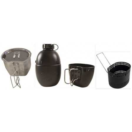 BCB 4 Part Dragon Cooking System Silver