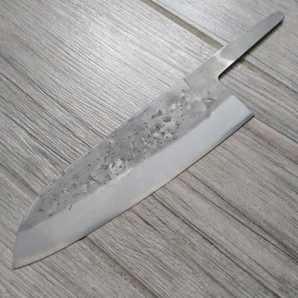 Santoku 180 Blue paper steel