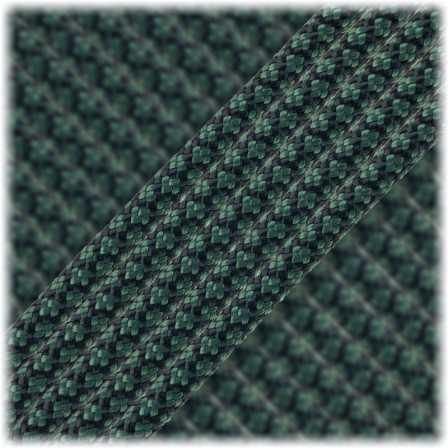 Paracord Type III 550 Dark Green Snake