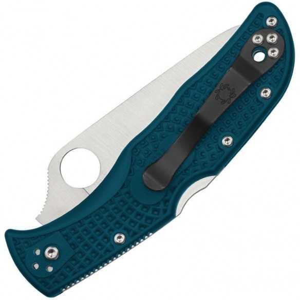 Spyderco Endela FRN Blue K390