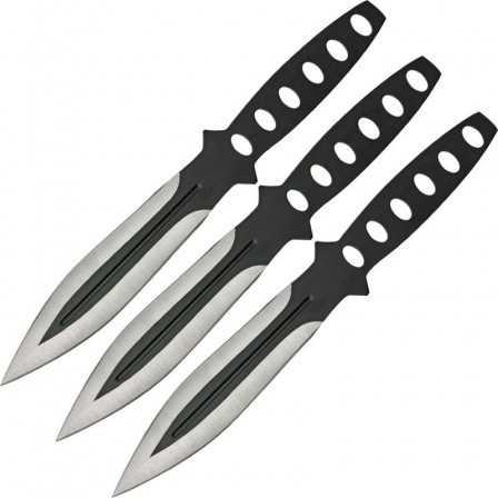 Black Streak Triple Thrower Set