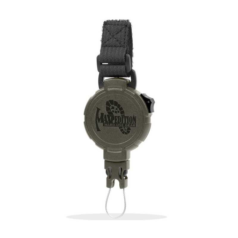 Maxpedition Tactical Gear Retractor Large Strap Green