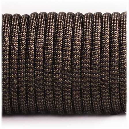 Paracord Type III 550 Coyote Black Wave