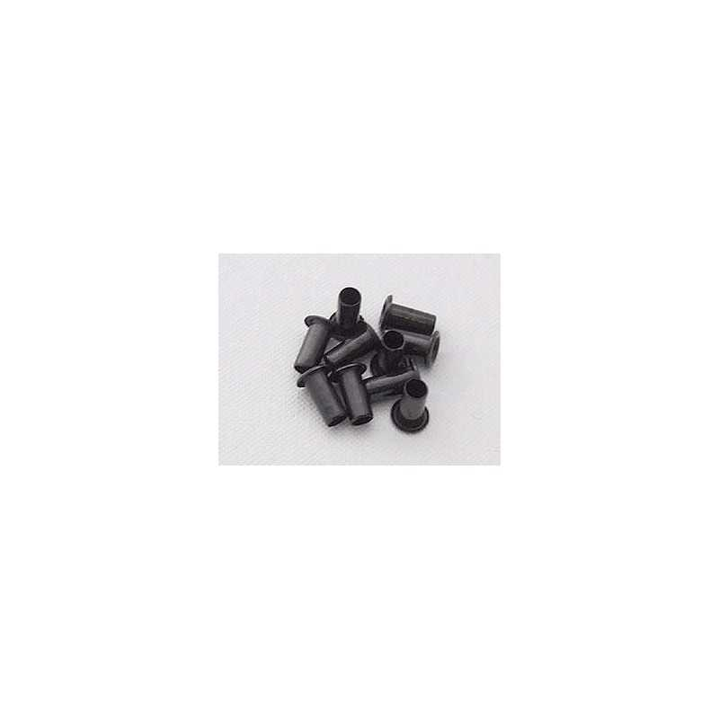 Kydex Black 10x4mm / 10 pcs