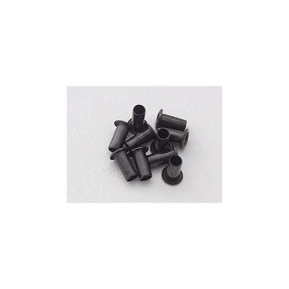 Rivetti Kydex Black 10x4mm / 10 pcs