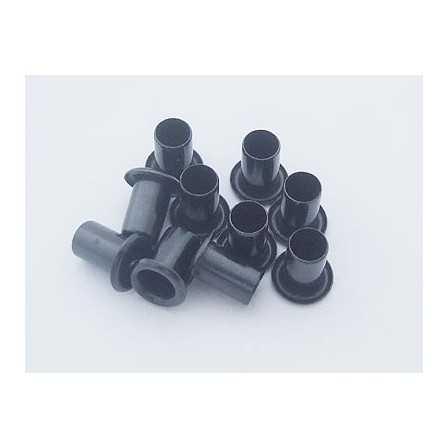 Kydex Black 10x6mm / 10 pcs