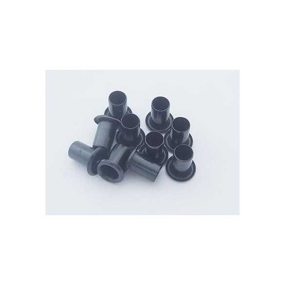 Rivetti Kydex Black 10x6mm / 10 pcs