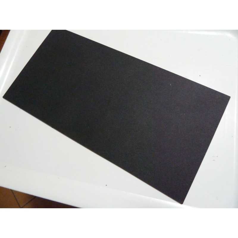 Kydex Black 2.6 mm ( 0.090) 15x30 cm