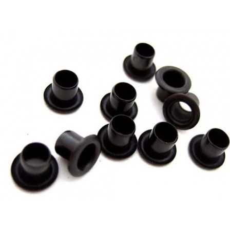 Rivetti Kydex Black 5.5x4mm / 10 pcs
