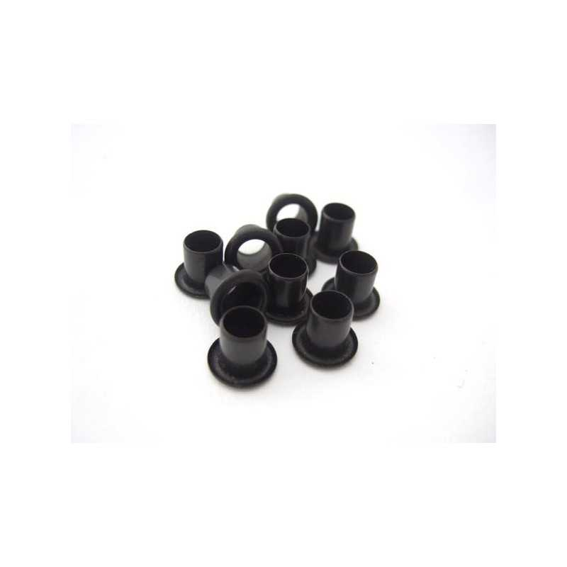 Kydex Black 8x6mm / 10 pcs