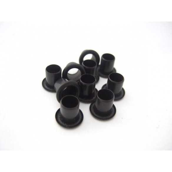 Rivetti Kydex Black 8x6mm / 10 pcs