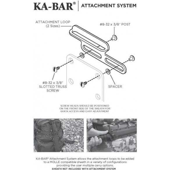 KA-BAR 9916 Attachment System