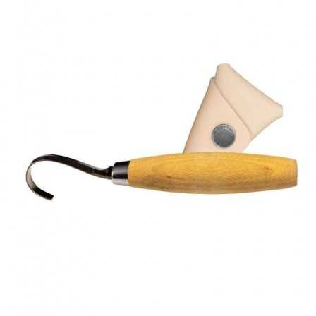 Morakniv Woodcarving 164 Right with sheath