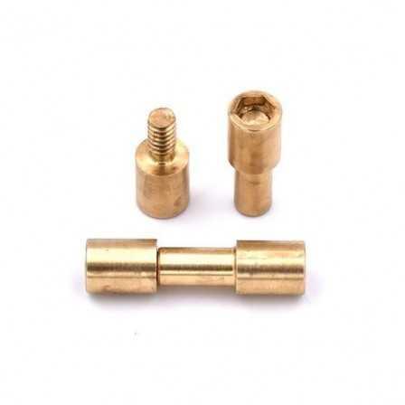 Corby rivet brass 1 pc 1/4 Inset