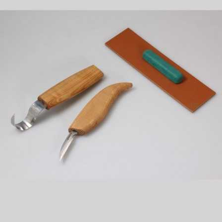 Beavercraft S02 Spoon Carving Set with Small Knife