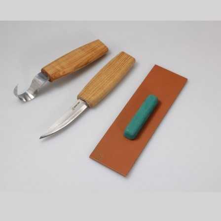 Beavercraft S03 Spoon Carving Tool Set for Beginners