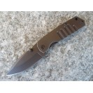 Schrade Drop Point Folding Framelock Knife SCH304