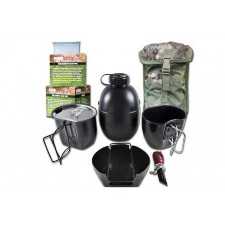 BCB The Crusader Cooking System I (6 Piece Set) Black...