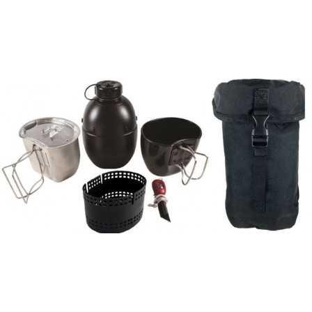 BCB Dragon Cooking System 6 Piece Set Black Pouch