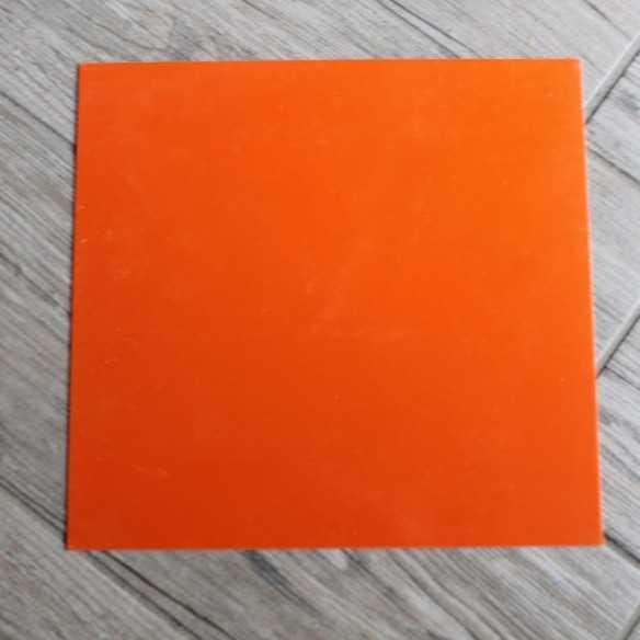 G-10 Orange Liner 255x243x1 mm