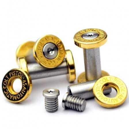 Brass Locking Screws Automatic colt pistol mark 21 x 6 mm