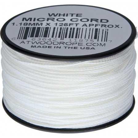 Microcord 1.18 mm White 40 m