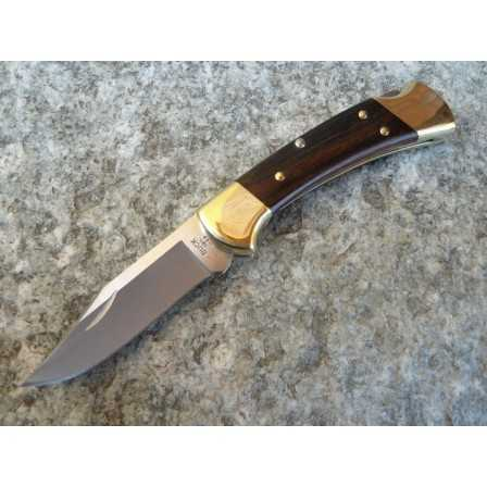 Buck 112 Folding Ranger Leather