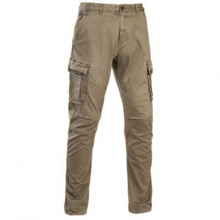 D.FIVE Pantalone Cargo Lungo Khaki