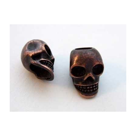 Skull / Antique Copper